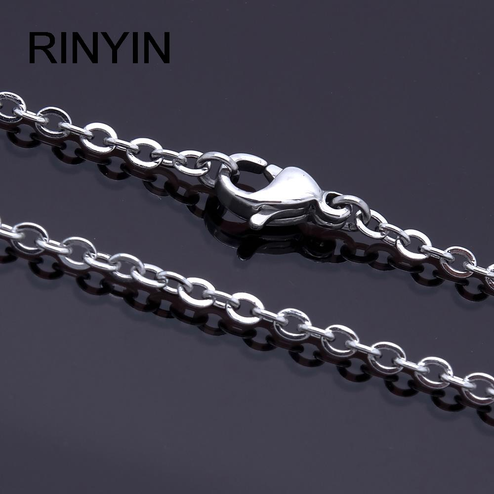 "Men Women Jewerly 1mm 16"" 18"" 20"" 22"" 24"" Inches Links Chain Fashion Necklace"