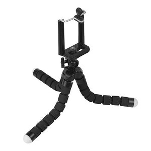 Powstro Mini Flexible Octopus Digital Camera Tripod Holder