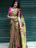 Advaita Banarsi Silk Saree