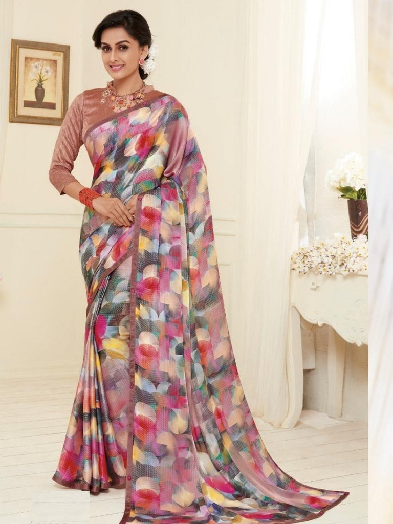 Siya Georgette Casual wear Sarees