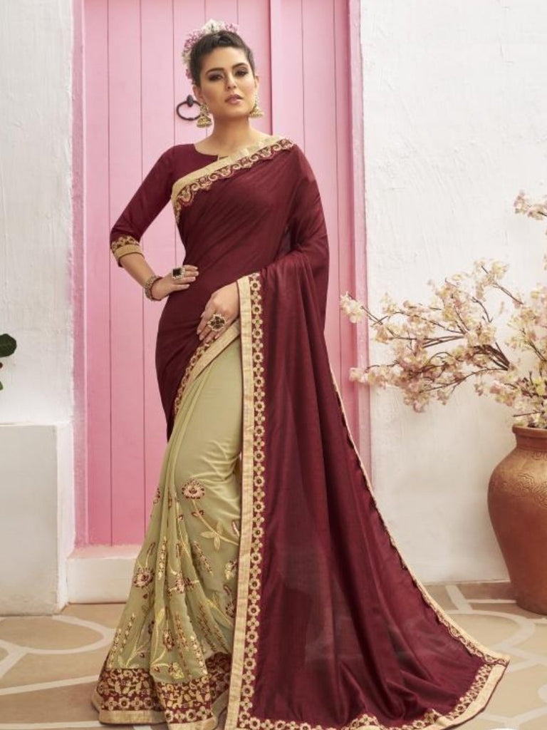 Anamika party wear sarees