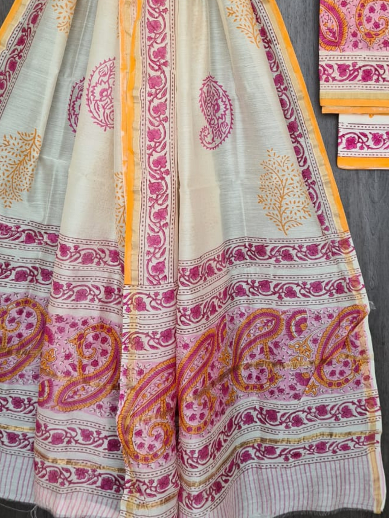 Satya Chanderi Suit