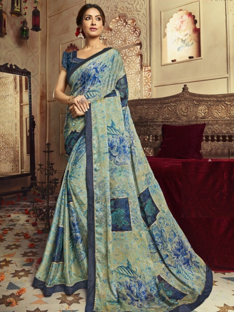 Vaishali Blue Saree