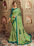 Vaishali Green Saree