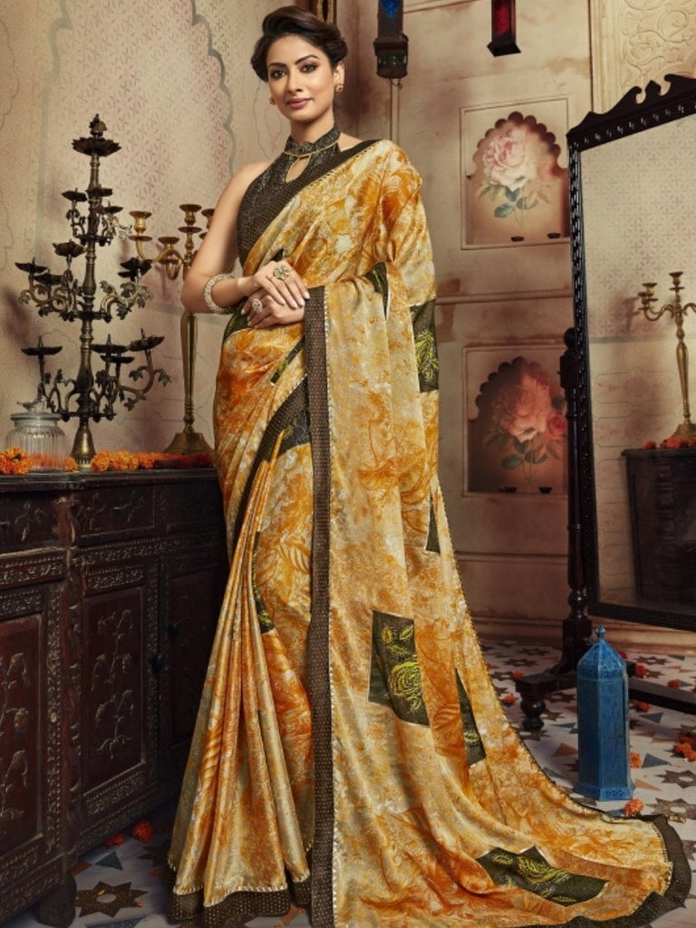 Vaishali Brown, Yellow Saree
