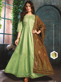 Mia Mint Green Kurti Suit