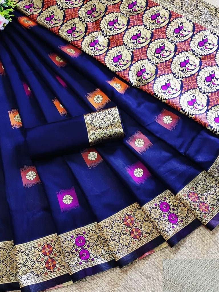 Erisha Blue Saree