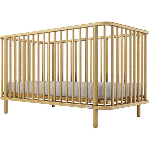 Micuna Life Full Size Crib - Natural