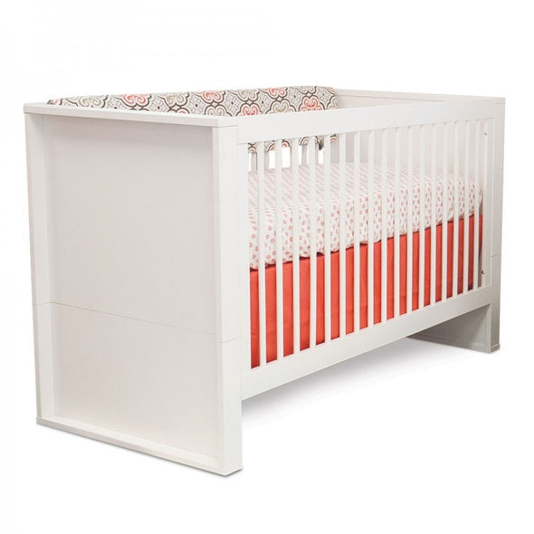 P'kolino Bianco Convertible Crib - Milk - White
