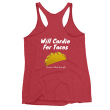 Load image into Gallery viewer, Will Cardio For Tacos Women's Tank