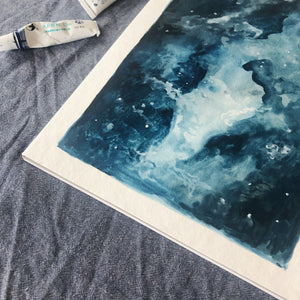 'I Am The Universe' Watercolour Print (Limited Edition)