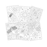 6 PACK Mindful Colouring (Digital Download)