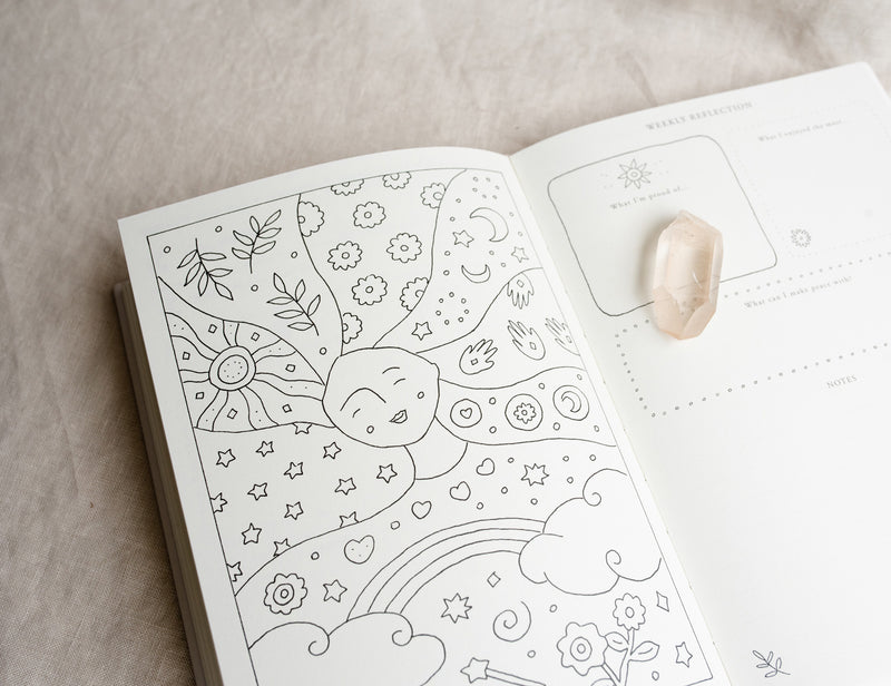 ☆ 'A Year of Coming Home ' Guided Self-Love Journal