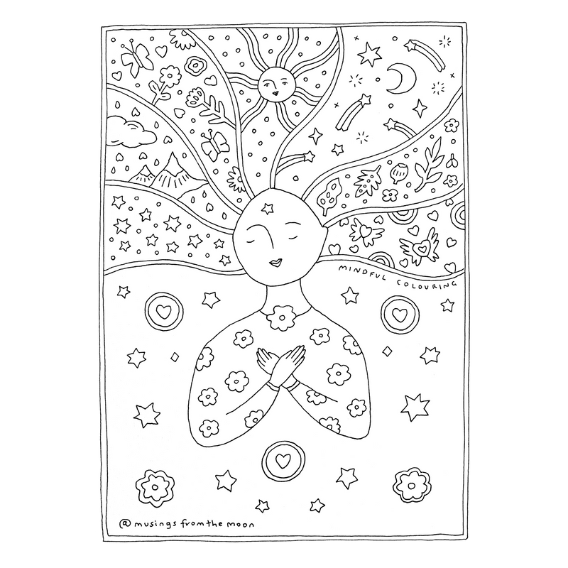 FREE Mindful Colouring