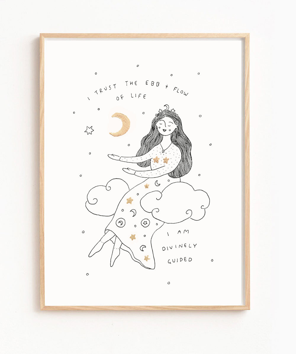 La Luna (Signed, Limited Edition Print)