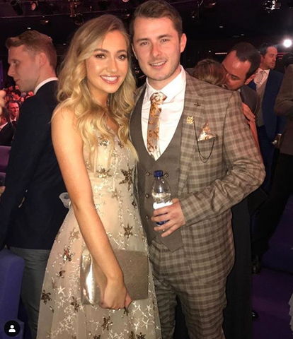 "Elizabeth Grace Couture blog. Tilly Keeper at the British Soap awards wearing EGC ""A Star is Born"" gown"