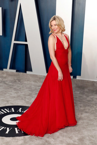 Elizabeth Grace Couture blog. Elizabeth Banks re-wearing her red carpet dress to the Oscars 2020