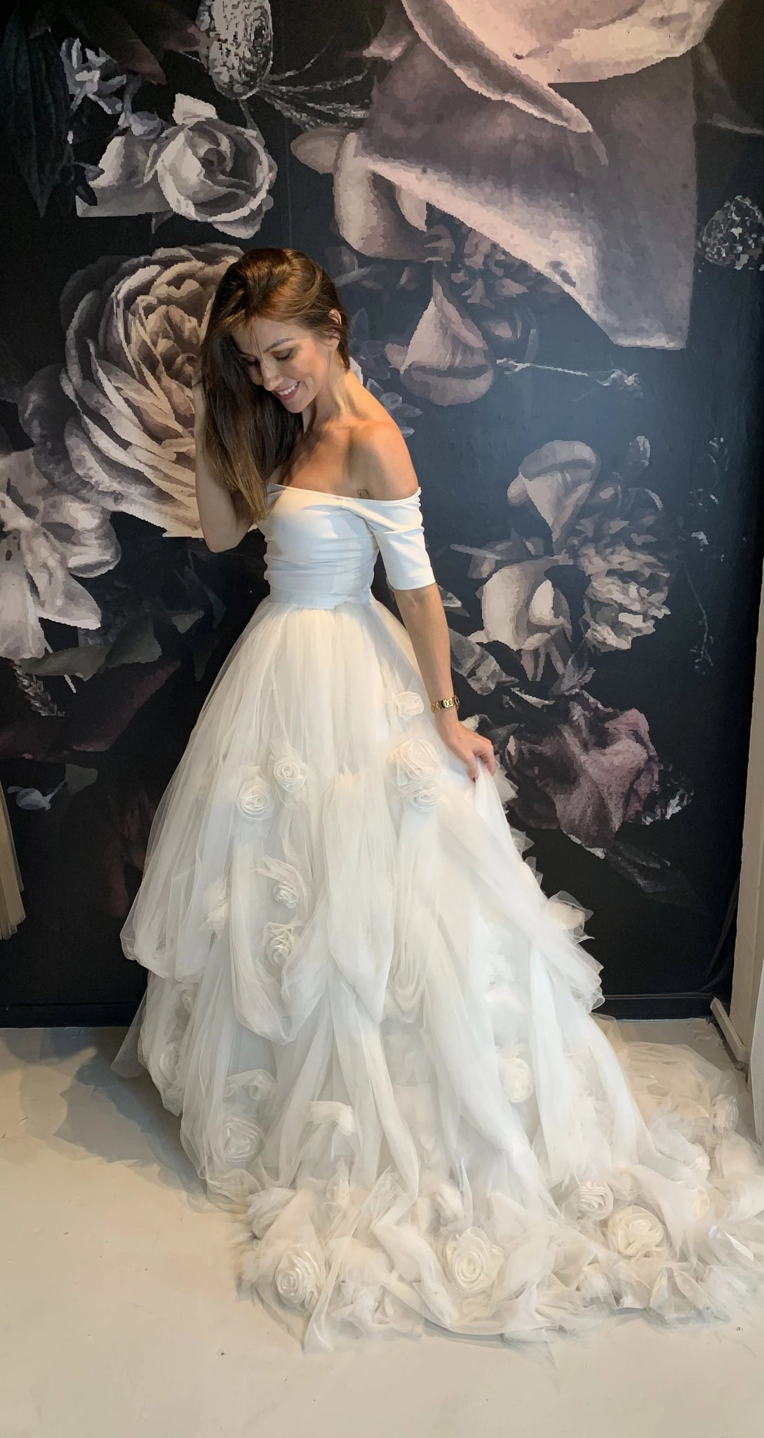 "Elizabeth Grace Couture ""Grace"" Bridal Skirt"