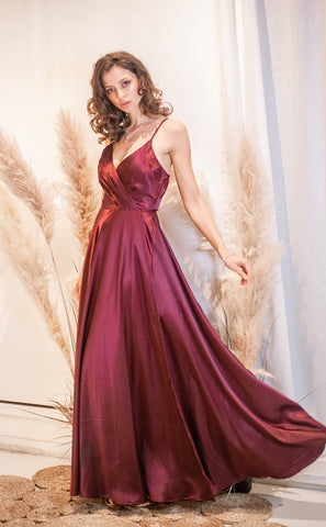 """Celine"" Evening and Bridesmaid Gown - Elizabeth Grace Couture"