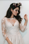 Liv - Lace Bridal Top - Elizabeth Grace Couture