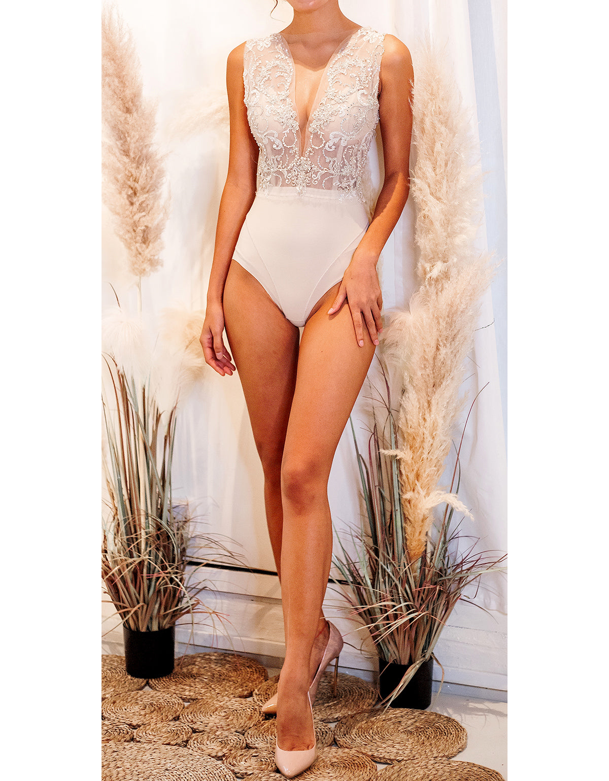 """Ever After"" 3 Piece Bridal Set - Elizabeth Grace Couture"
