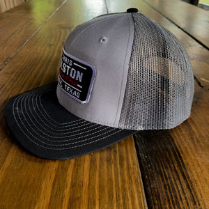 Gray on Gray Patch Hat