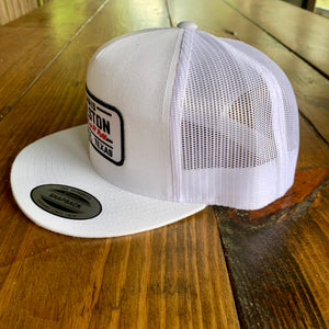 White Patch Hat