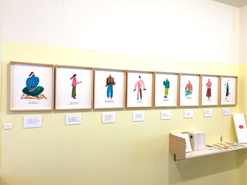 tenten展示「the story about sweaters」始まりました。