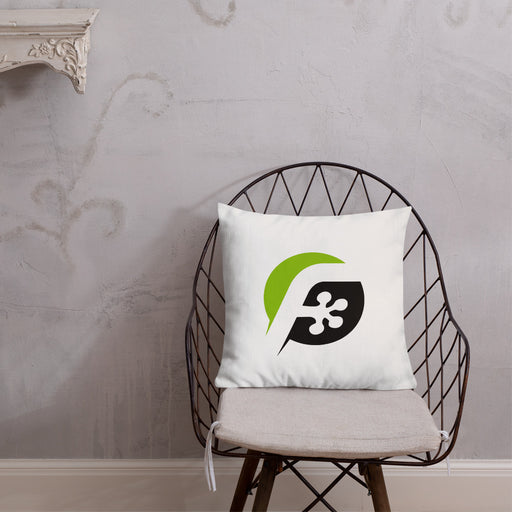 FrogDaddy Throw Pillow