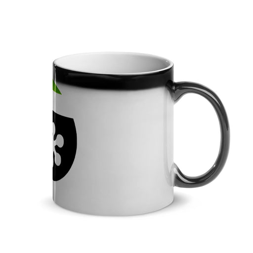 FrogDaddy Black Frosted Mug
