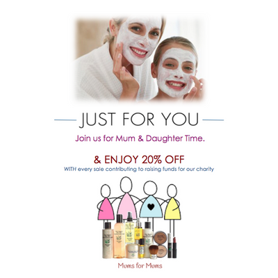 Mum & Daughter Time  - Education and pampering event