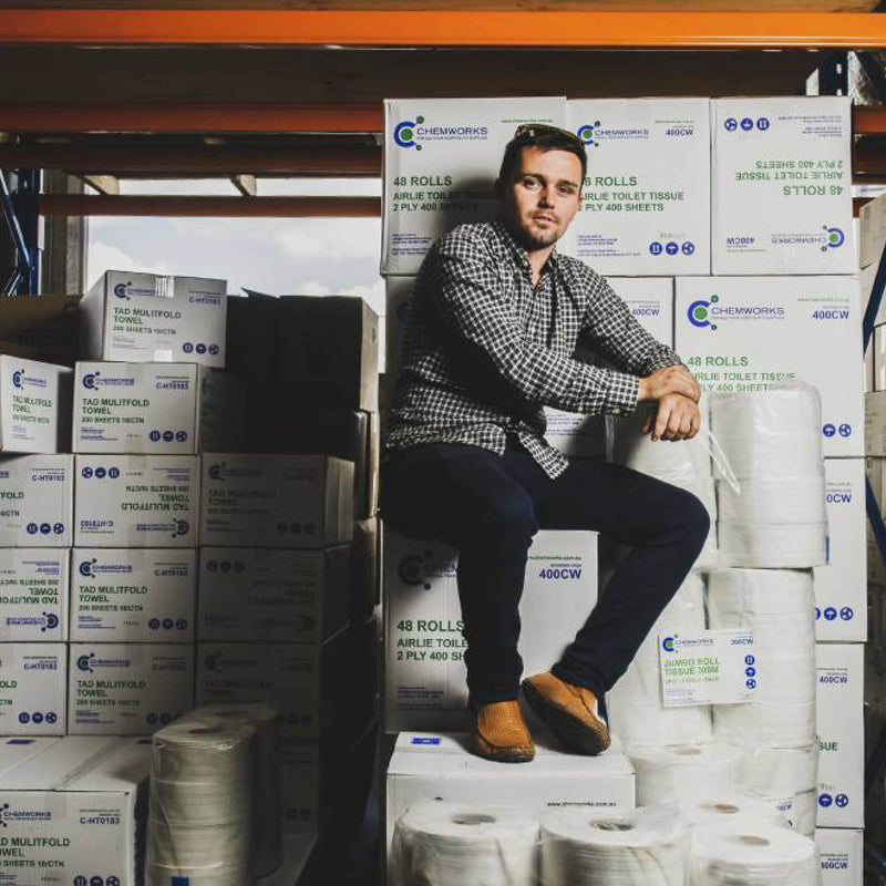 Canberra Times: The great toilet paper rush rolls on