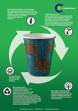 Environmentally Friendly Packaging - Coffee Cups