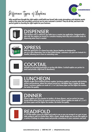 Difference Types of Napkins