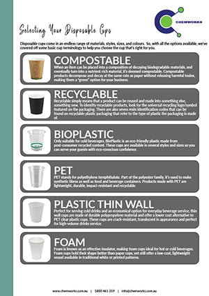 Selecting Your Disposable Cups