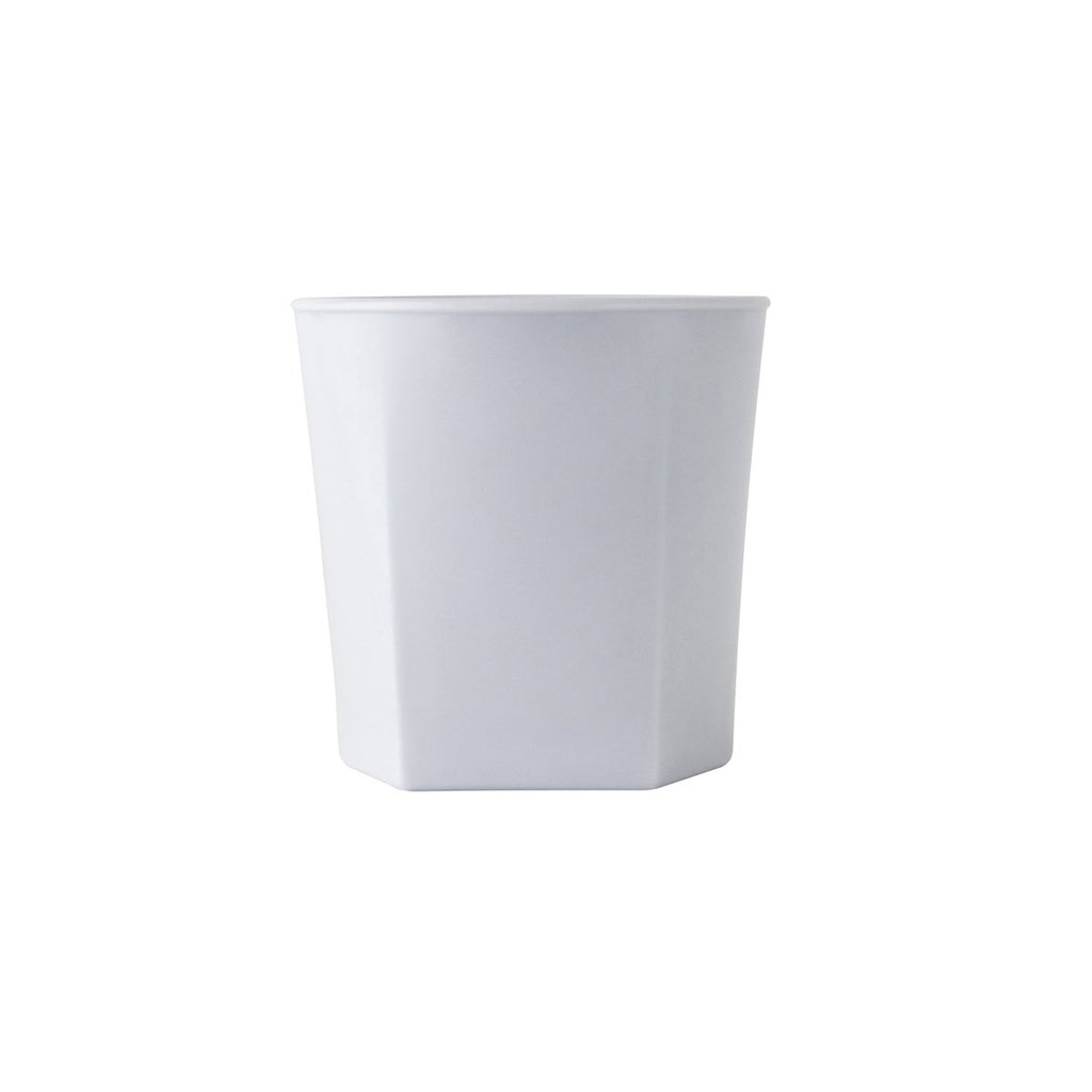 0320127-TR Polysafe Jasper Pure White Stackable Tumbler Chemworks Hospitality