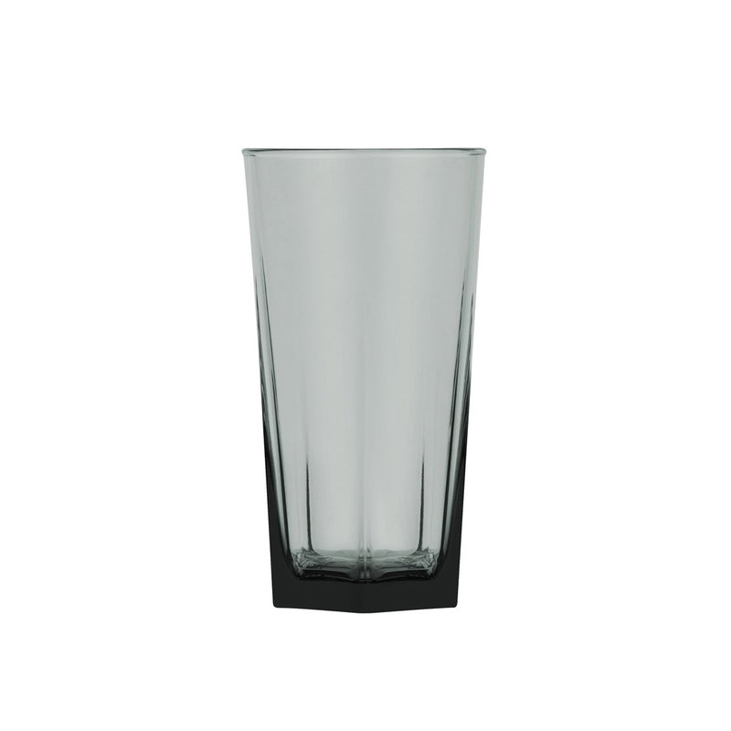 0321542-TR Polysafe Jasper Smoke Stackable Certified & Nucleated Highball Chemworks Hospitality