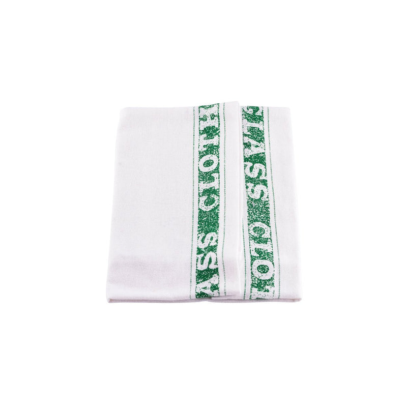1STTG-GN Glass Cloth 100% Cotton Green Chemworks Hospitality