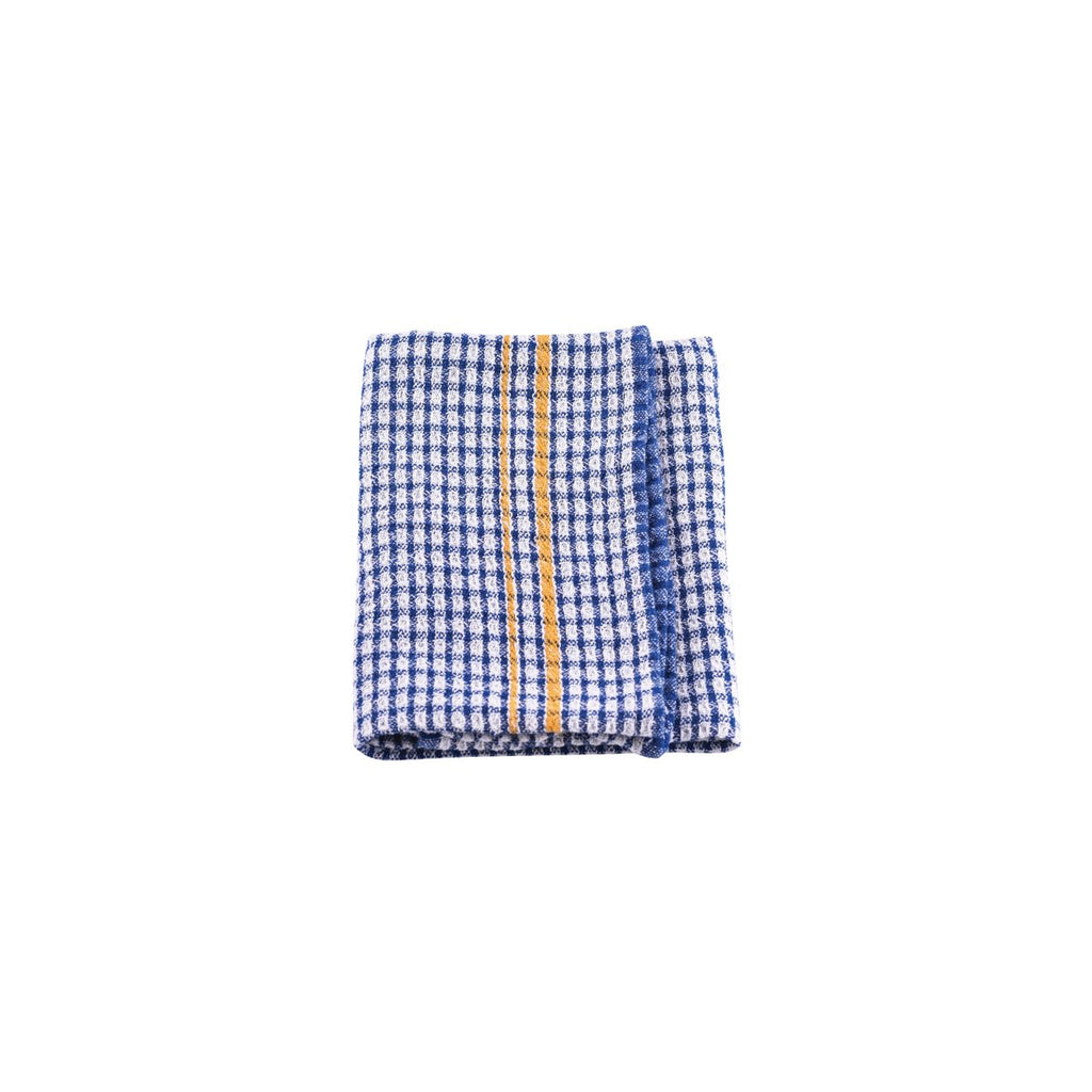 1STTQ-BL Tea Towel 100% Cotton Blue Chemworks Hospitality