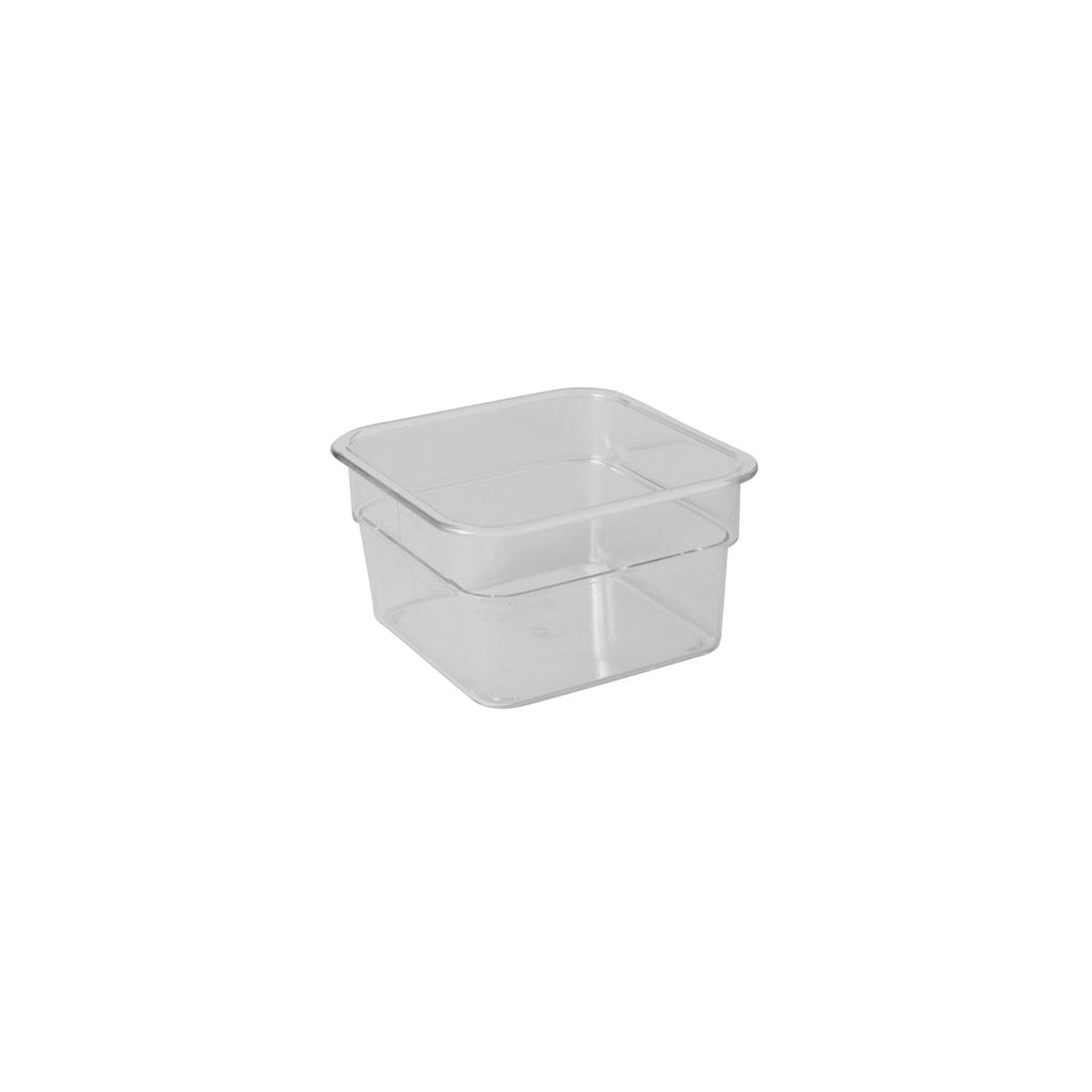 2SFSCW-135-C Camsquare Container Polycarbonate 1.9Ltr Chemworks Hospitality