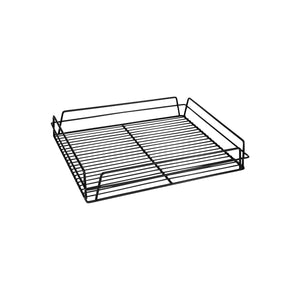 30600-BK-TR Glass Basket - Rectangular Black Pvc Coated Chemworks Hospitality