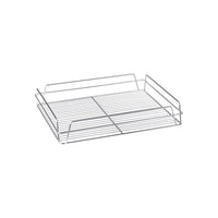 30600-CH-TR Glass Basket - Rectangular Chrome Plated Chemworks Hospitality