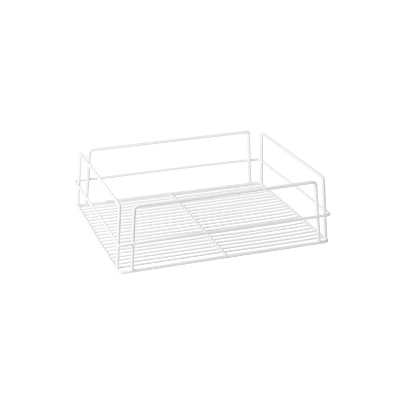 30602-TR Glass Basket - Rectangular White Pvc Coated Chemworks Hospitality