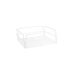 30607-TR Glass Basket - Rectangular White Pvc Coated Chemworks Hospitality