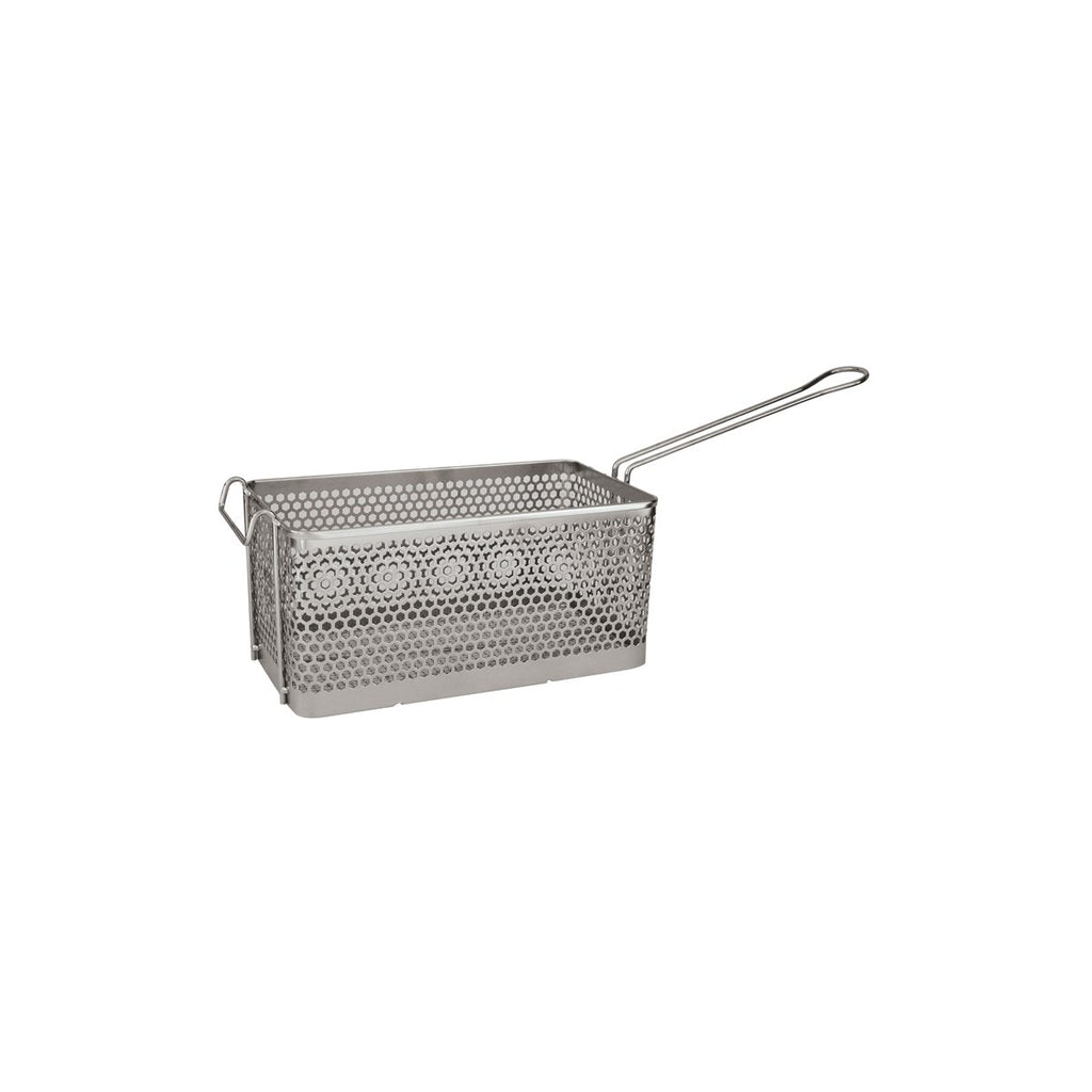 30640-TR Rectangular Fry Basket Chrome Plated 225x200x150mm Chemworks Hospitality