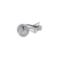 30745-TR CaterChef Milk Frothing Thermometer With Clip| Stainless Steel| 28mm Face Diameter 150mm Probe Chemworks Hospitality