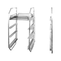 30840-R-TR 4 Tier Under Bar Rack - Right Aluminium