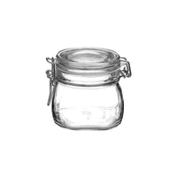 340-000-T Bormioli Rocco Jar with Hinge Lid - Glass 560ml