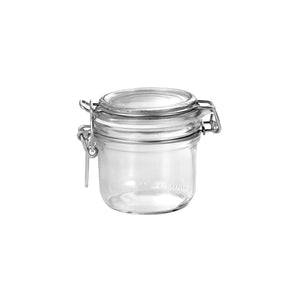 340-009-T Bormioli Rocco Jar with Hinge Lid - Glass 200ml