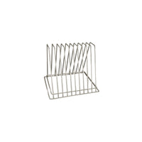 40310-TR Cutting Board Rack Chrome Plated | Reinforced Base 10 Slot Chemworks Hospitality